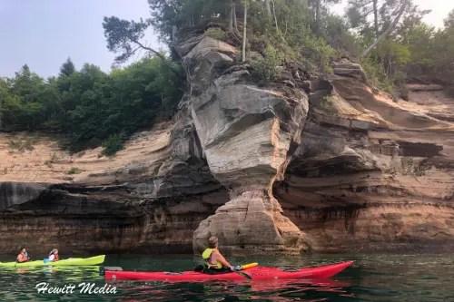 Pictured Rocks Kayak-8183