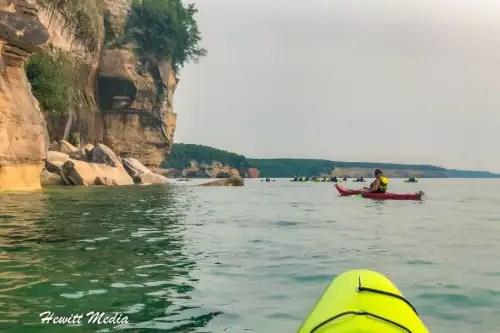 Pictured Rocks Kayak-8248