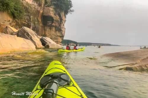Pictured Rocks Kayak-8251