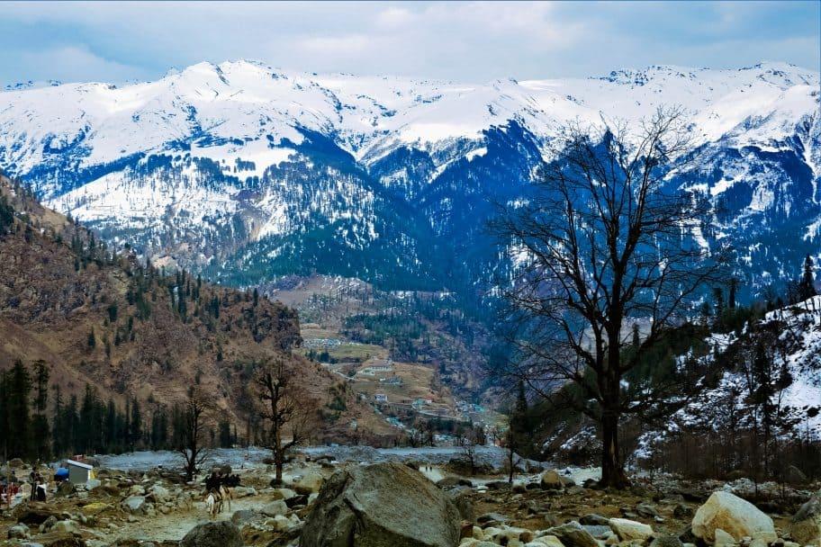 Shimla and Manali