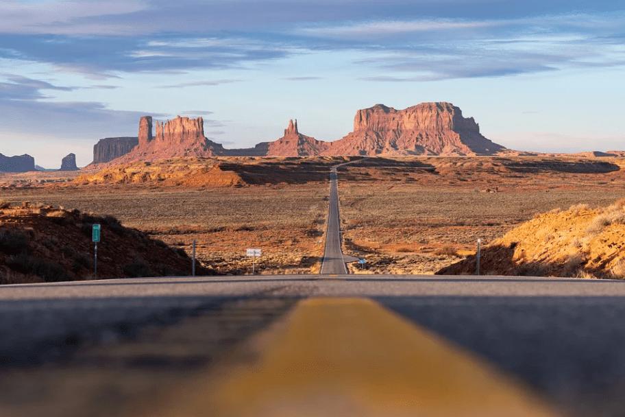 Southern Utah Road Trip - Forrest Gump Point