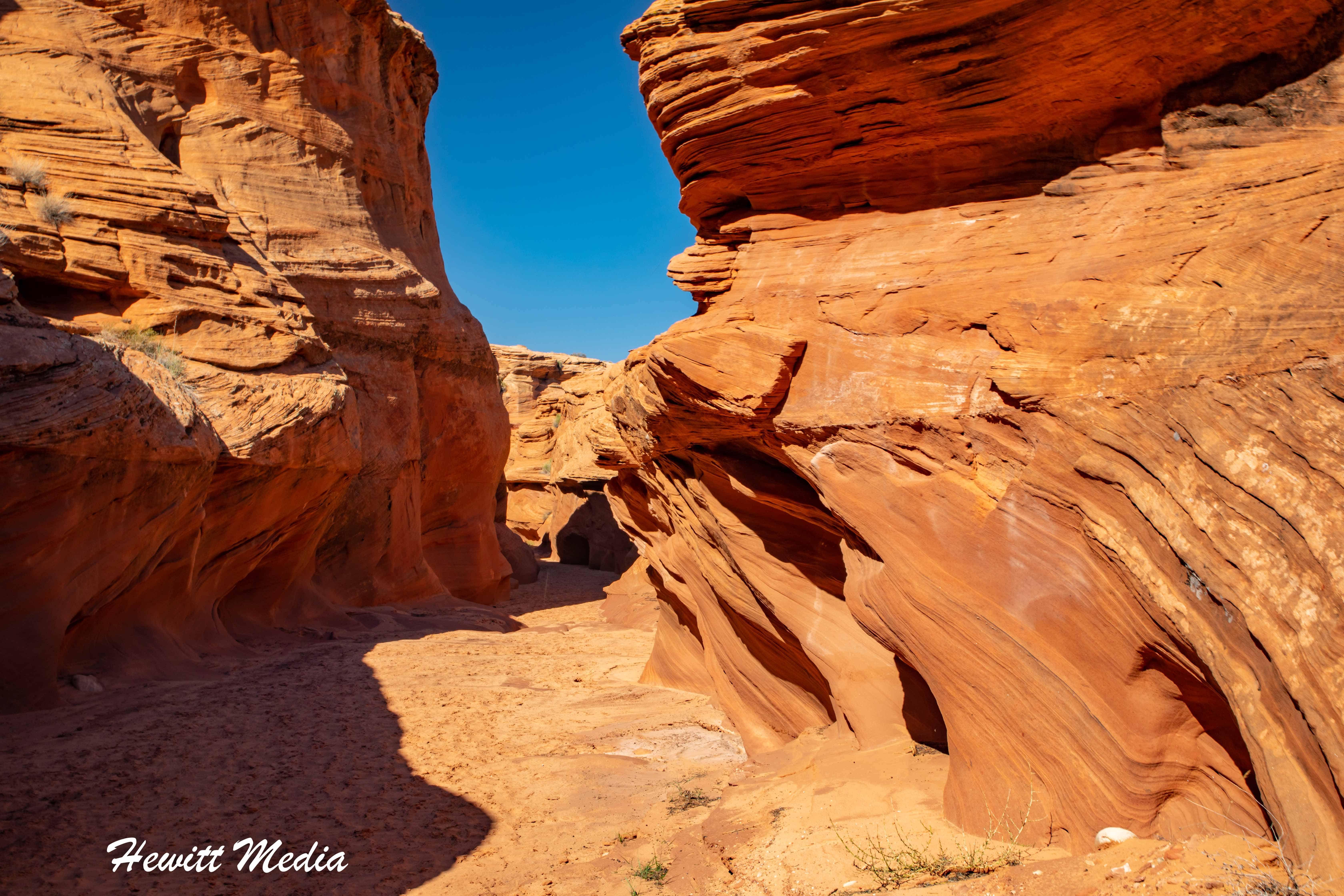 Water Hole Canyon Near Page, Arizona