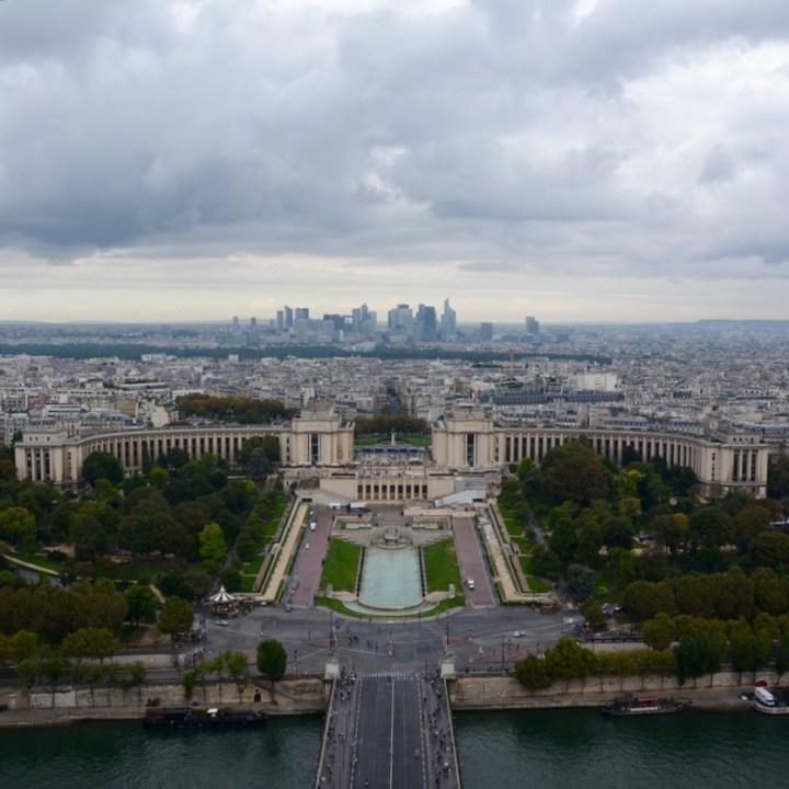 paris france eiffel tower view trocadero