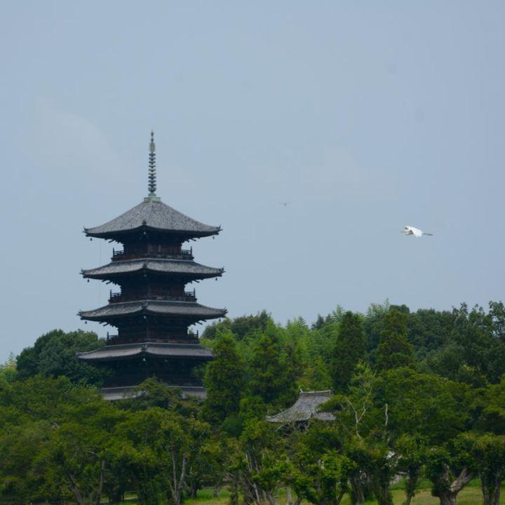 Kibi plain Bitchu Kokubun-ji temple