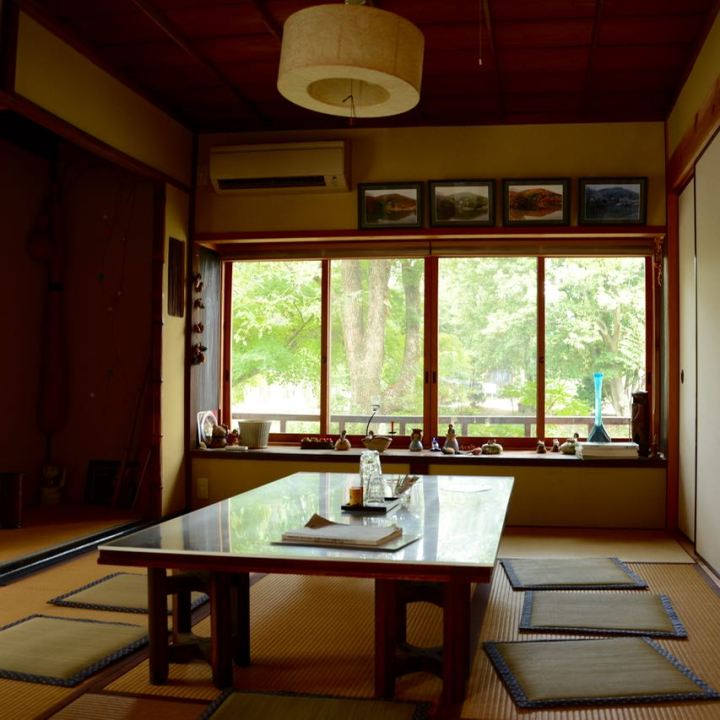 kibi plain cycle route Kibuhitso shrine tea house