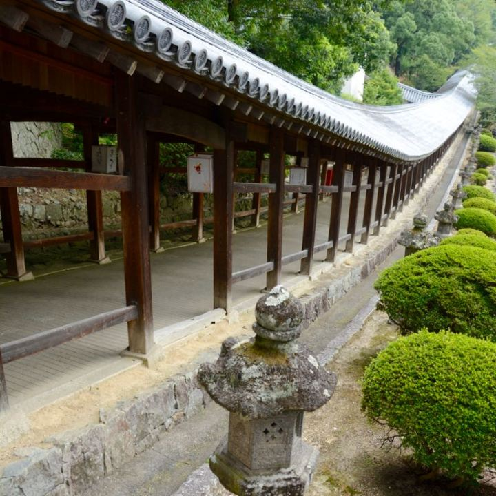 kibi plain cycle ride Kibitsu shrine architecture