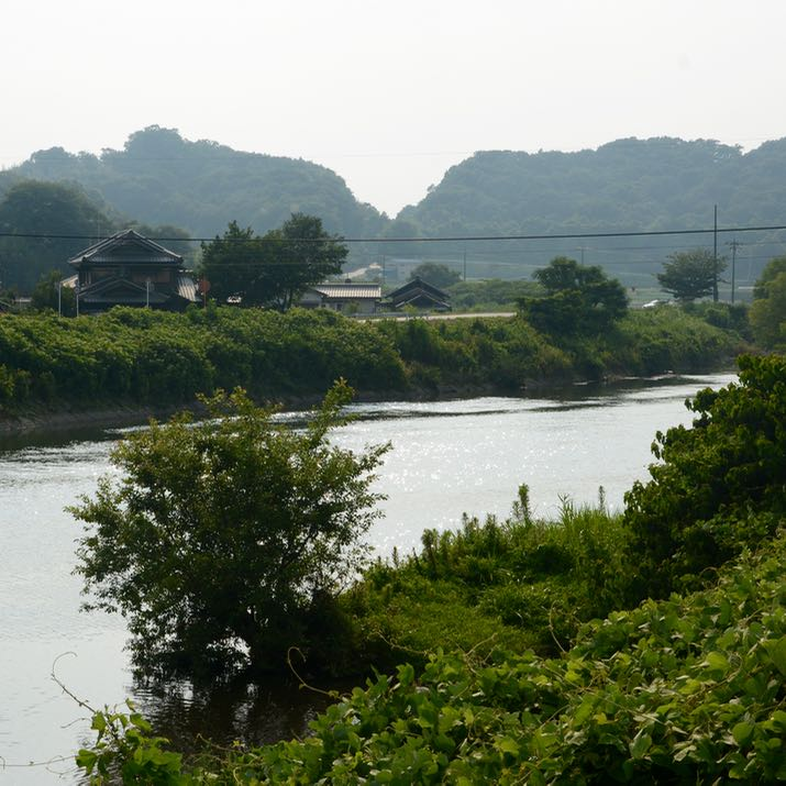 kibi plain cycle ride river