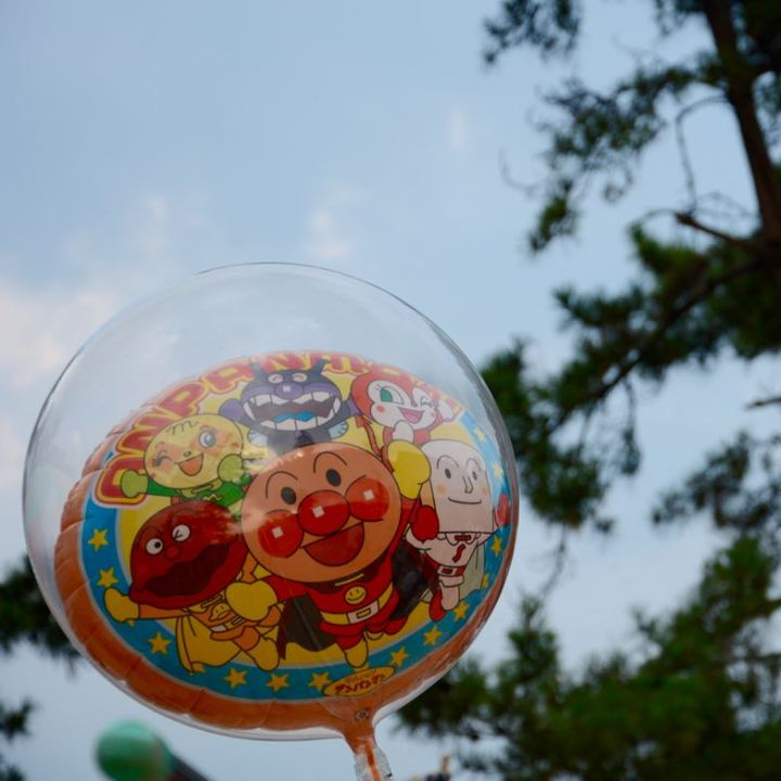 kibi plain cycle ride Kibitsuhiko Shrine festival anpanman ballon
