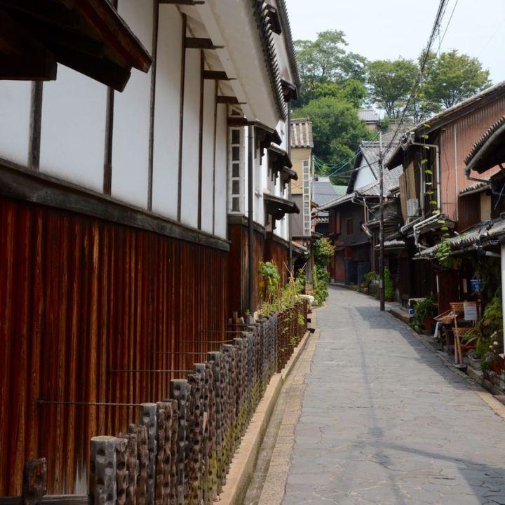 Tomonoura japan port historical area architecture alley