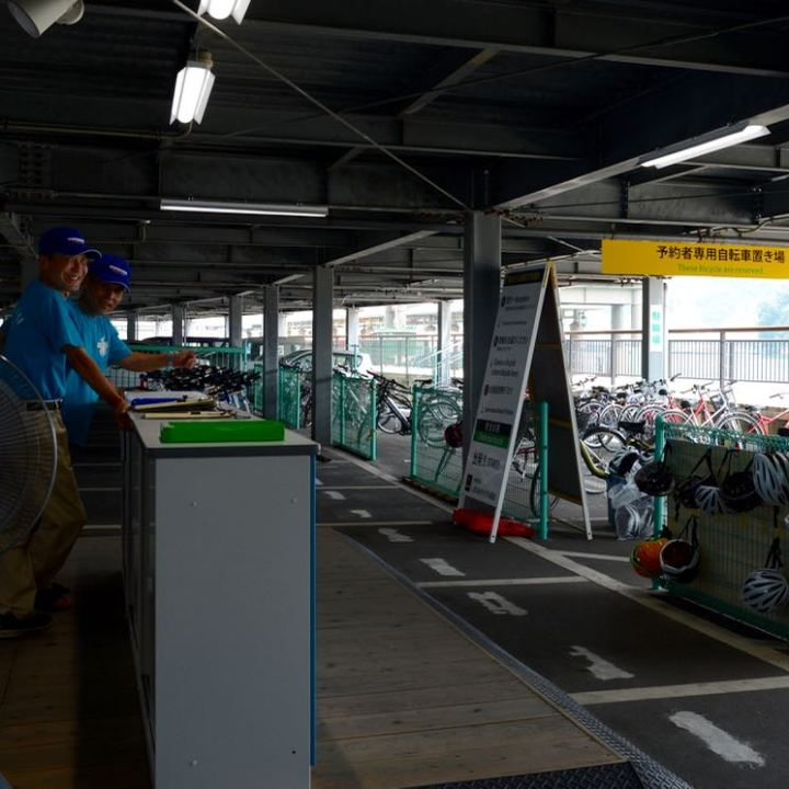 Onomichi shimanami kaido cycle rental station