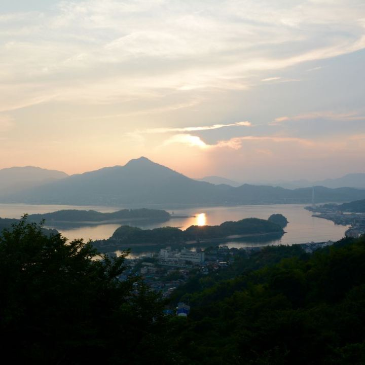 hotel innoshima view sunset