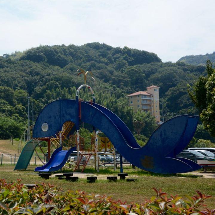 innoshima shimanami kaido cycle path playground slide