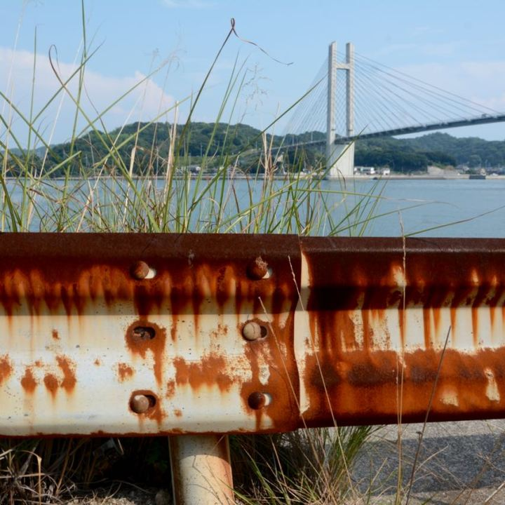 innoshima shimanami kaido yugejima bridge crash barrier