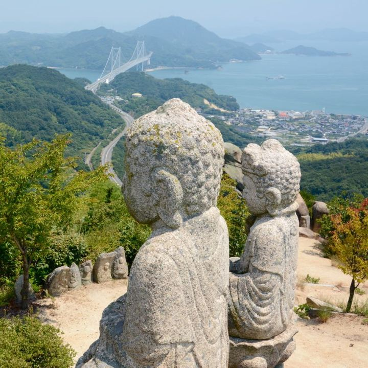 Innoshima, Japan | Mystic Mountain Temple on Shirataki-san