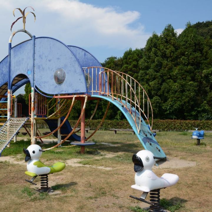 innoshima park whale slide
