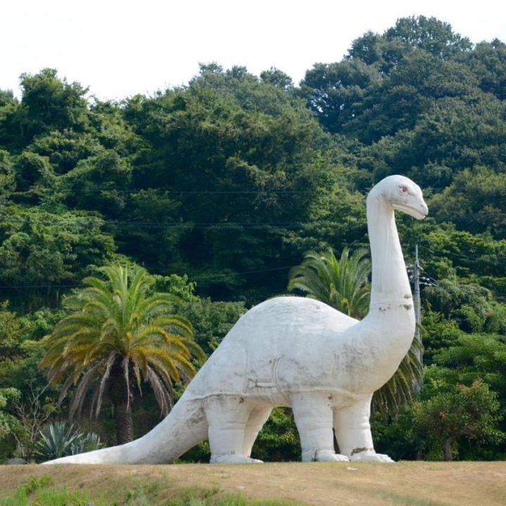 innoshima park brontosaurus