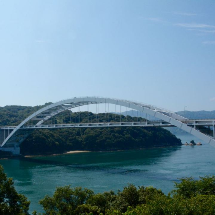 shimanami kaido cycling seto inland sea bridge