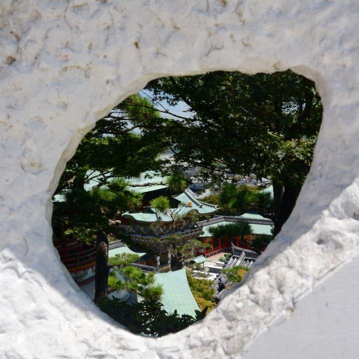 ikuchijima setoda kosanji temple shrine hill of hope marble hill temple complex