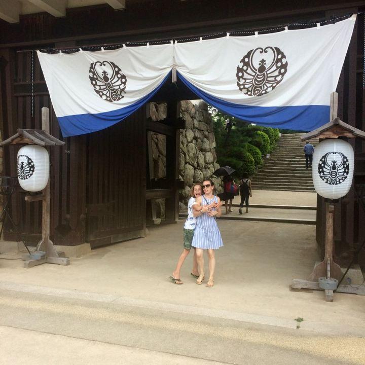 Okayama castle main gate