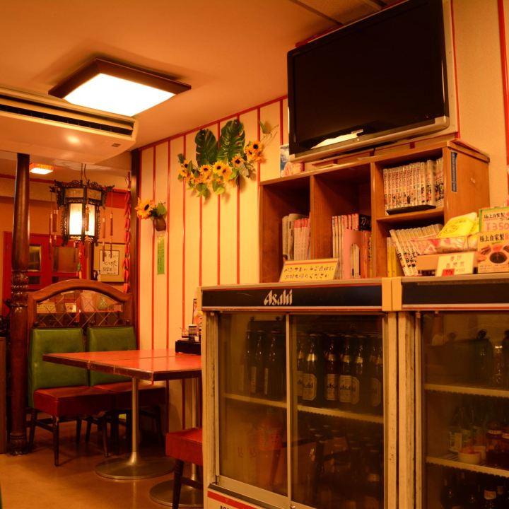 retro interior chinese restaurant Kurashiki