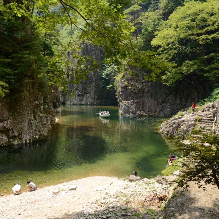 Sandankyo gorge Hiroshima Japan krobuchi zhang