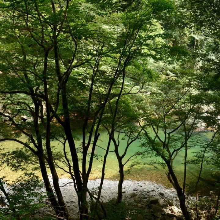 Sandankyo gorge Hiroshima Japan emerald river