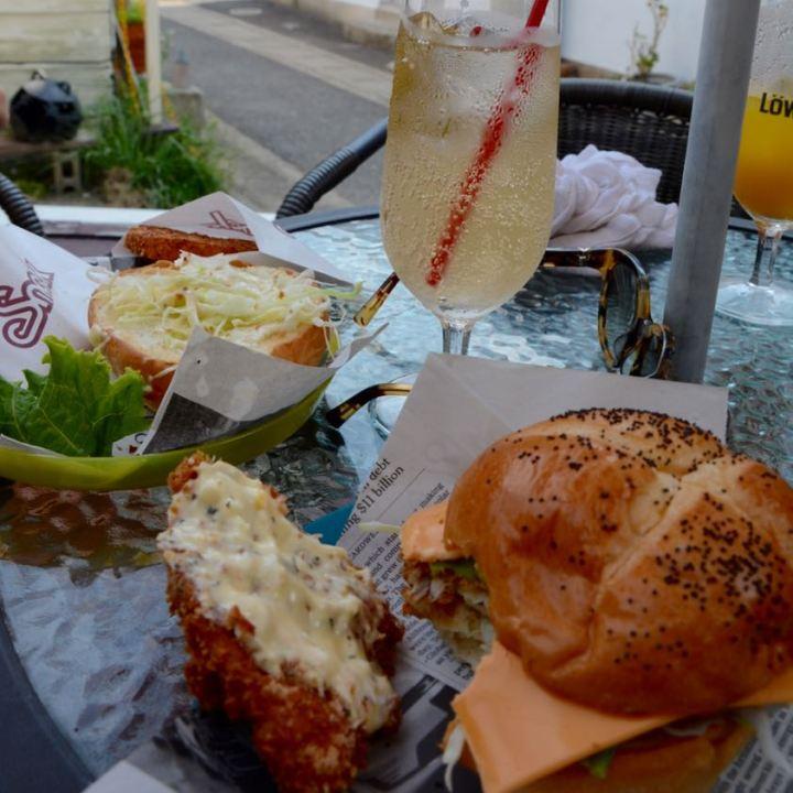 naoshima honmoura setouchi tirennale hamburger