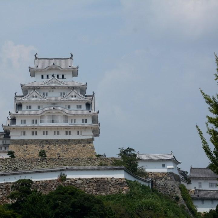 himeji castle architecture main keep