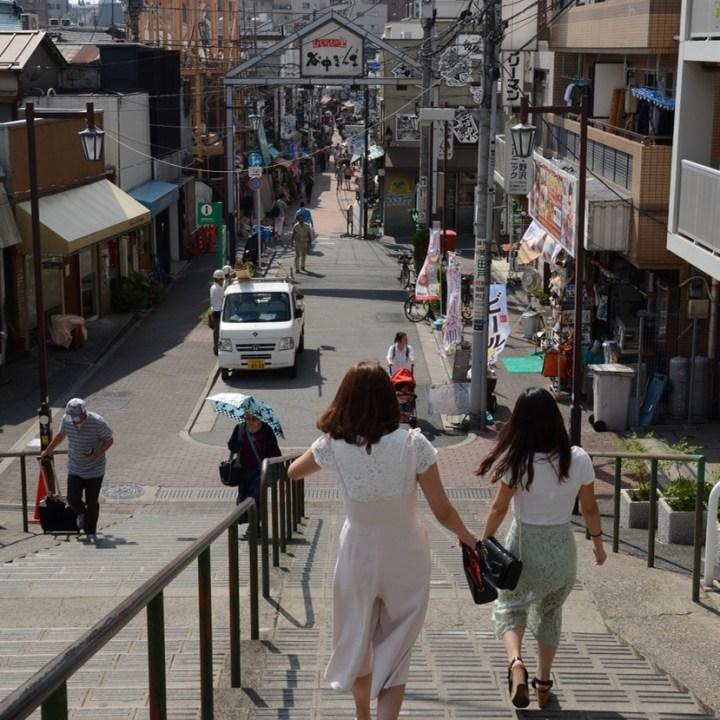 yanaka ginza tokyo shopping street