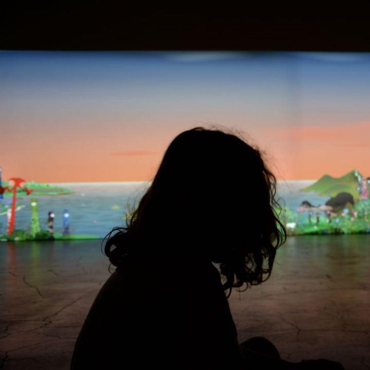 kaikai kiki gallery chiho aoshima video art installation