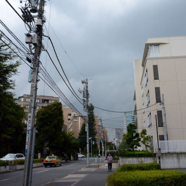Roppongi tokyo street scene