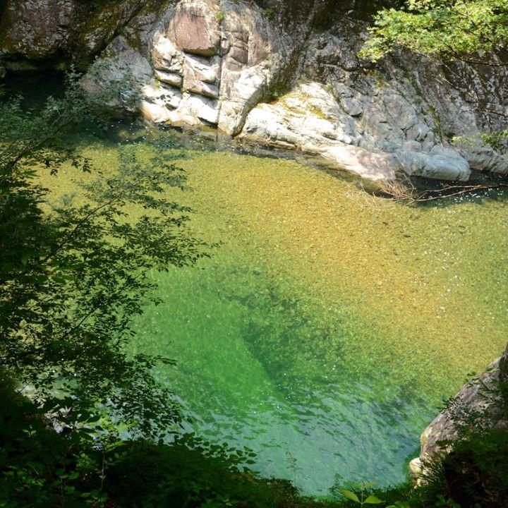 Sandankyo gorge hiroshima japan river water