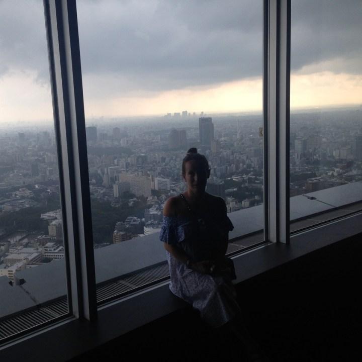 roppongi tokyo mori tower city view