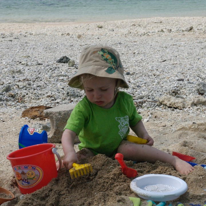 travel with kids japan okinawa ishigaki jima
