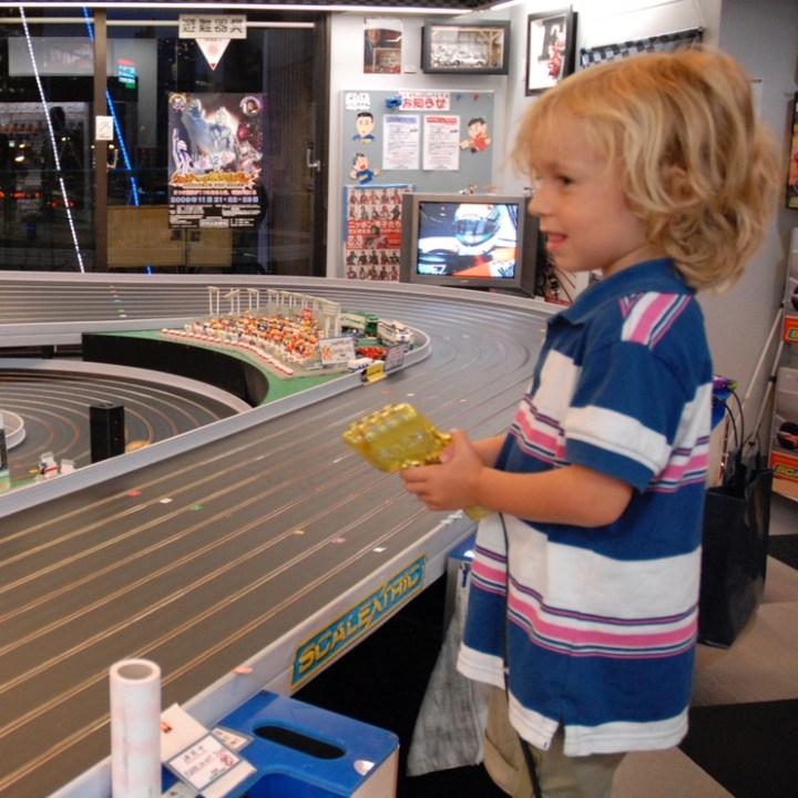 travel with kids japan tokyo Hakuhinkan Toy store