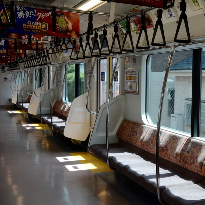 keiko inokashira line train carriage