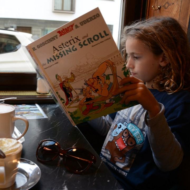Vienna Wien Austria with children kids cafe goldegg