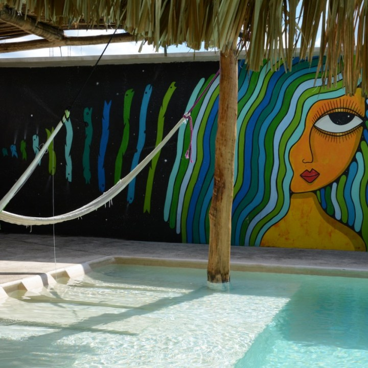 Cancun Mexico valladolid hotel zentic project pool art