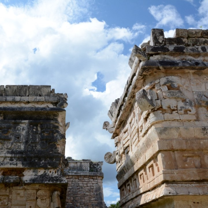travel with children kids mexico chichen itza las monjas