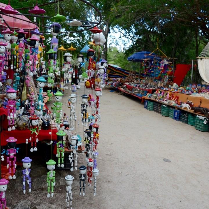 travel with children kids mexico chichen itza thousand columns souvenirs