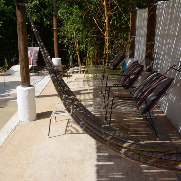 Travel with children kids mexico merida airbnb terrace