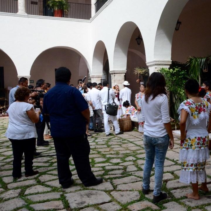 Travel with children kids mexico merida university competition