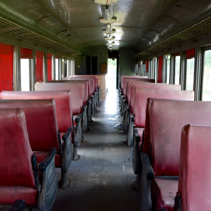 Travel with children kids mexico merida train museum carriage