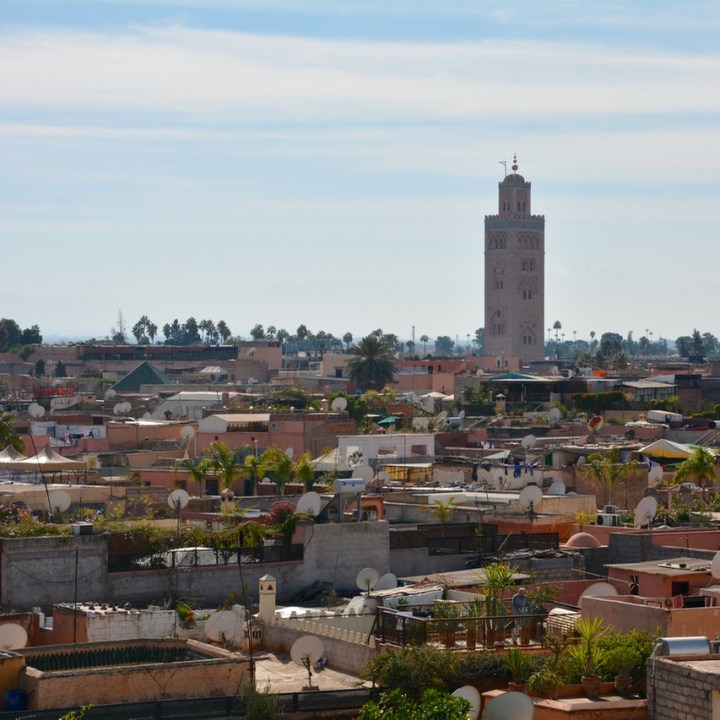 Travel with children kids Marrakesh morocco medina secret garden koutoubia mosque
