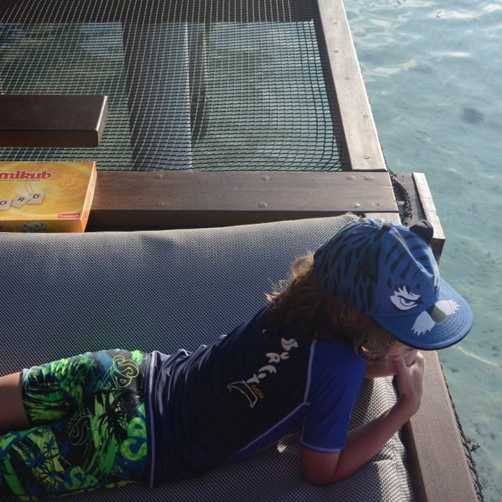 travel with children kids maldives lux south ari atoll shark feeding
