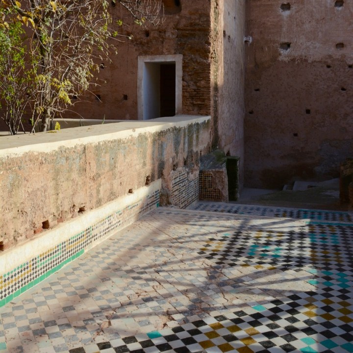 Travel with children kids Marrakesh morocco medina badia palace servants quarter
