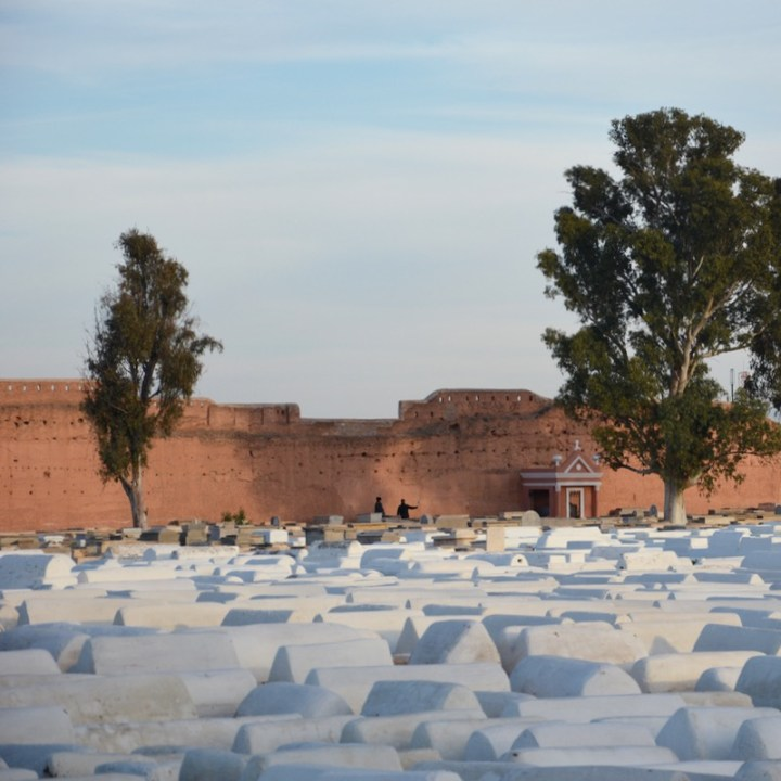 Travel with children kids Marrakesh morocco jewish cemetery