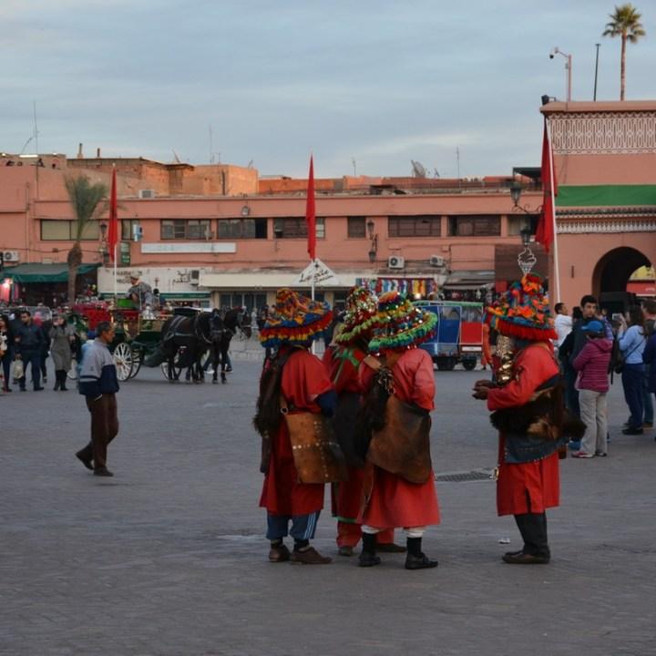 Travel with children kids Marrakesh morocco medina jemmy el fna berbers