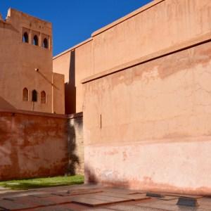 travel with children kids morocco marrakech saadian tombs graves