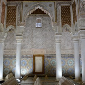 travel with children kids morocco marrakech saadian tombs king